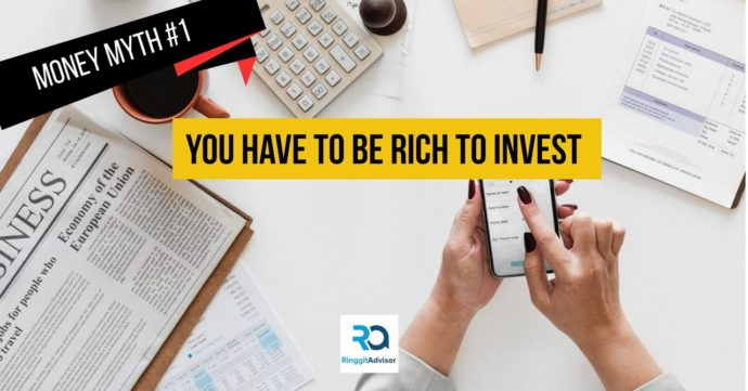 Money Myth #1 - You have to be rich to invest