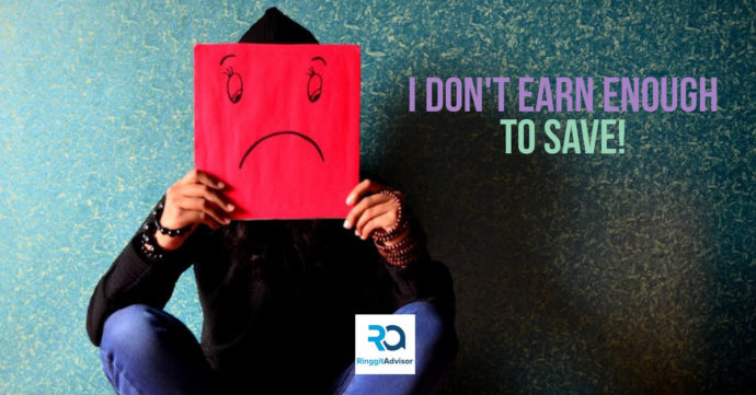 don't earn enough to save